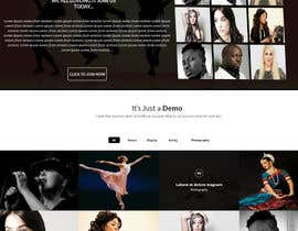 harisramzan11 tarafından Design a Website Mockup for an online institute için no 5