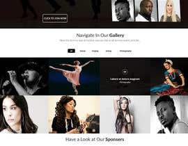 harisramzan11 tarafından Design a Website Mockup for an online institute için no 12