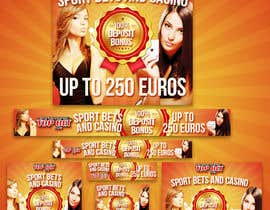 #5 untuk Design a Banner for Casino & Sportbook Bonus oleh gfxalex12
