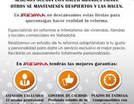 #5 untuk Diseño de flyer para empresa de reformas tamaño A5 oleh Letigallo