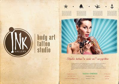 #1 for Design a Flyer for Ink Gallery by SimonMerritt