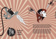 Contest Entry #5 for Design a Flyer for Ink Gallery
