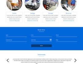 ravinderss2014 tarafından Design a Website Mockup Must be user friendly 1 page fun site for tranport company için no 6