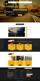 logodesire tarafından Design a Website Mockup Must be user friendly 1 page fun site for tranport company için no 12