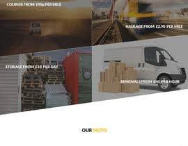 #2 untuk Design a Website Mockup Must be user friendly 1 page fun site for tranport company oleh kumarsravan031