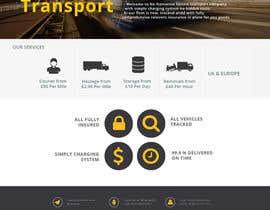 #14 untuk Design a Website Mockup Must be user friendly 1 page fun site for tranport company oleh kumarsravan031