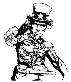 #7 untuk Design Uncle Sam Gangster oleh mogado