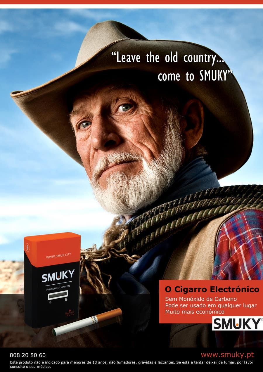 Konkurrenceindlæg #                                        42                                      for                                         Magazine Advertisement for SMUKY