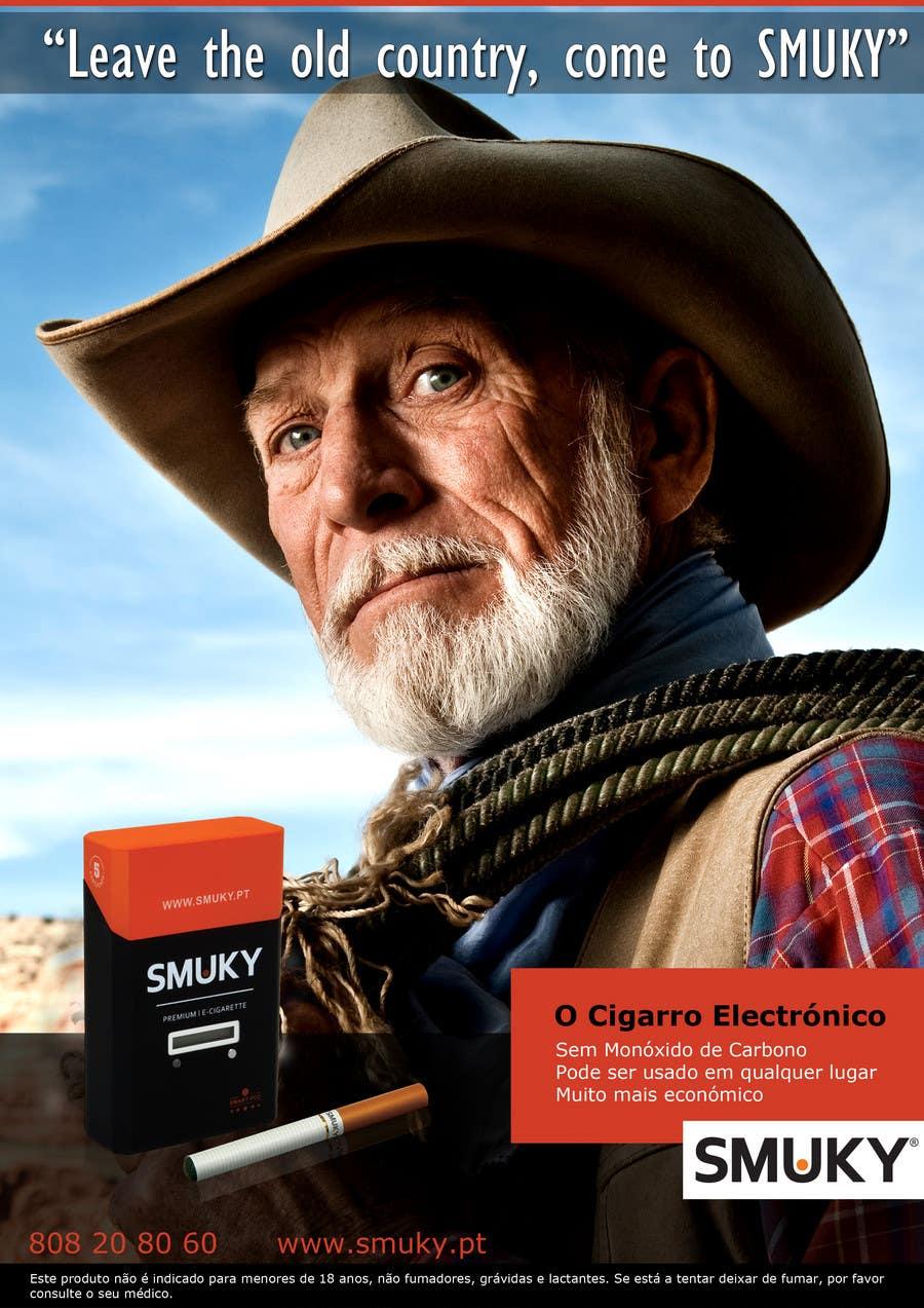 Konkurrenceindlæg #                                        39                                      for                                         Magazine Advertisement for SMUKY