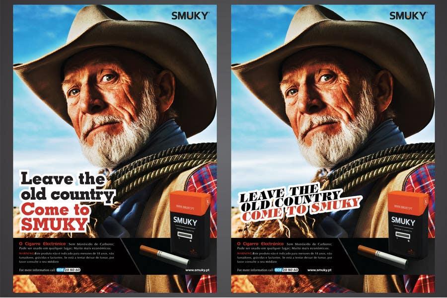 Konkurrenceindlæg #                                        49                                      for                                         Magazine Advertisement for SMUKY