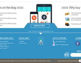 #2 untuk Create footer design for Magento online store oleh EhteshamMukhtar