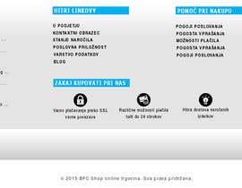 #6 untuk Create footer design for Magento online store oleh andrejor