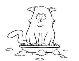 #17 untuk CatCommode Cartoon oleh blahsum