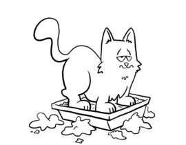 #18 untuk CatCommode Cartoon oleh blahsum