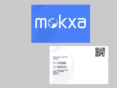 #4 for Design some Business Cards for Mokxa Technologies LLC by POONAKHATRI
