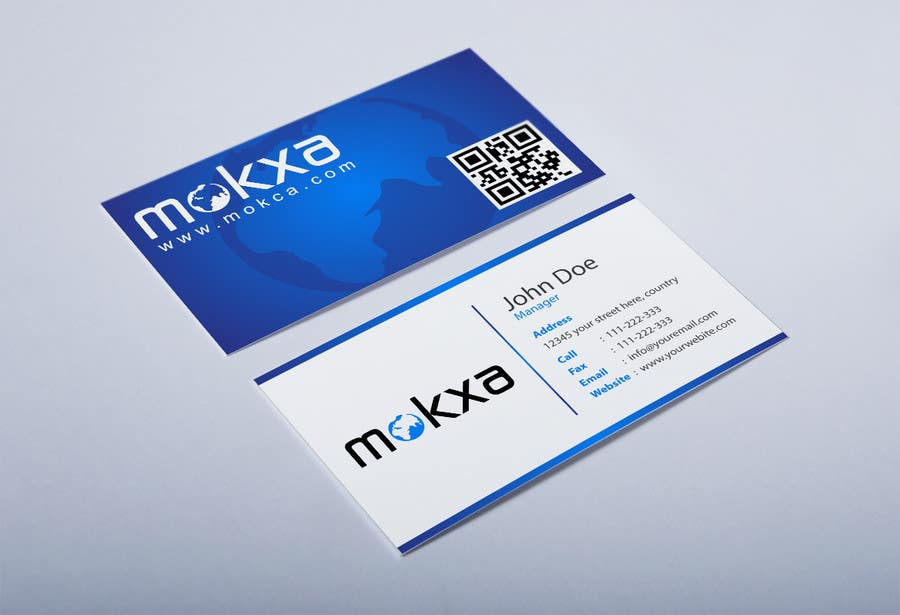 #27 for Design some Business Cards for Mokxa Technologies LLC by HammyHS