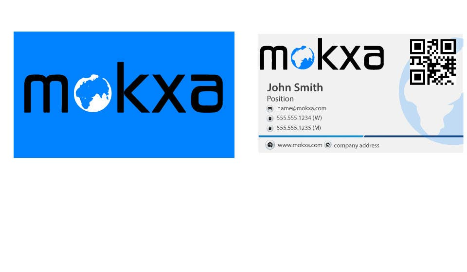 #13 for Design some Business Cards for Mokxa Technologies LLC by LucianCreative