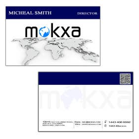 #10 for Design some Business Cards for Mokxa Technologies LLC by rahulgandhi83