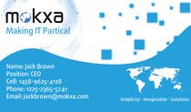 Contest Entry #19 for Design some Business Cards for Mokxa Technologies LLC