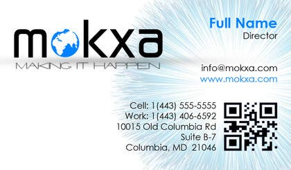#23 for Design some Business Cards for Mokxa Technologies LLC by ellieromark