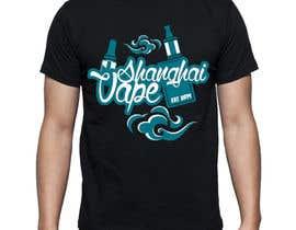 #2 untuk Design a T-Shirt for Shanghai Vape! oleh qayyumiman11