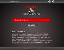 #20 untuk Youtube to MP3 Converter Website oleh sykov