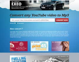 #43 untuk Youtube to MP3 Converter Website oleh hipnotyka