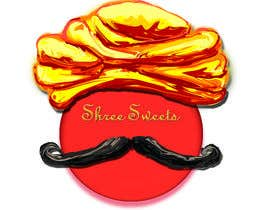 #17 untuk Design a Logo, tag line and a mascot for my Indian Sweets shop oleh gabbbba