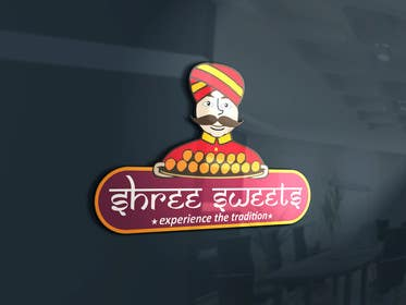 #12 untuk Design a Logo, tag line and a mascot for my Indian Sweets shop oleh jayantiwork