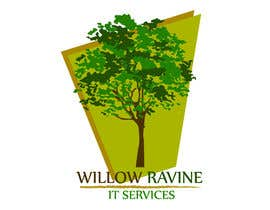chetangraphic tarafından Design a Logo for Willow Ravine IT Services için no 71