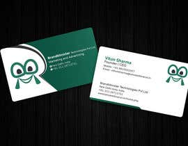 #31 untuk Business Card Design oleh THURA200