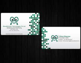 #52 untuk Business Card Design oleh THURA200