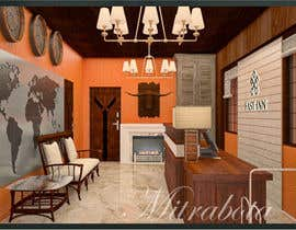 #14 untuk Reception and hotel room interior design oleh mitrabota