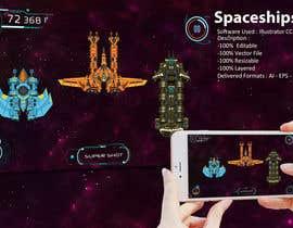 sandwalkers tarafından Looking for an artist to design 15 spaceships for a mobile game. için no 7