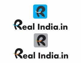 #25 untuk Design a Logo for realindia.in oleh adnanadbi