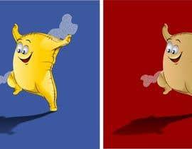 #19 untuk Draw a cartoony flour sack jump oleh viango