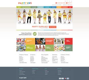 #11 untuk Design a Website Mockup for Ecommerce site oleh Nadasol