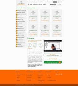 logodesire tarafından Design a Website Mockup için no 24