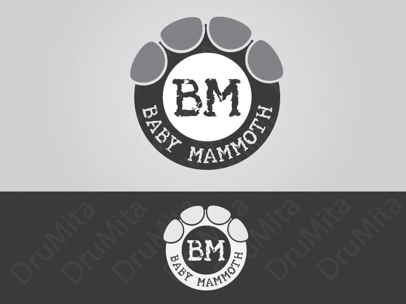 #80 for Design a Logo for Baby Mammoth! by DruMita