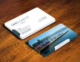 #70 untuk Design some Business Cards for Lake Chalet oleh youart2012