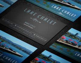 #97 untuk Design some Business Cards for Lake Chalet oleh ashanurzaman