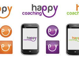#72 para Happy Coaching Logo por alexandracol