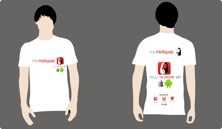 #6 for Design a T-Shirt for My mixtapez by creaturethehero