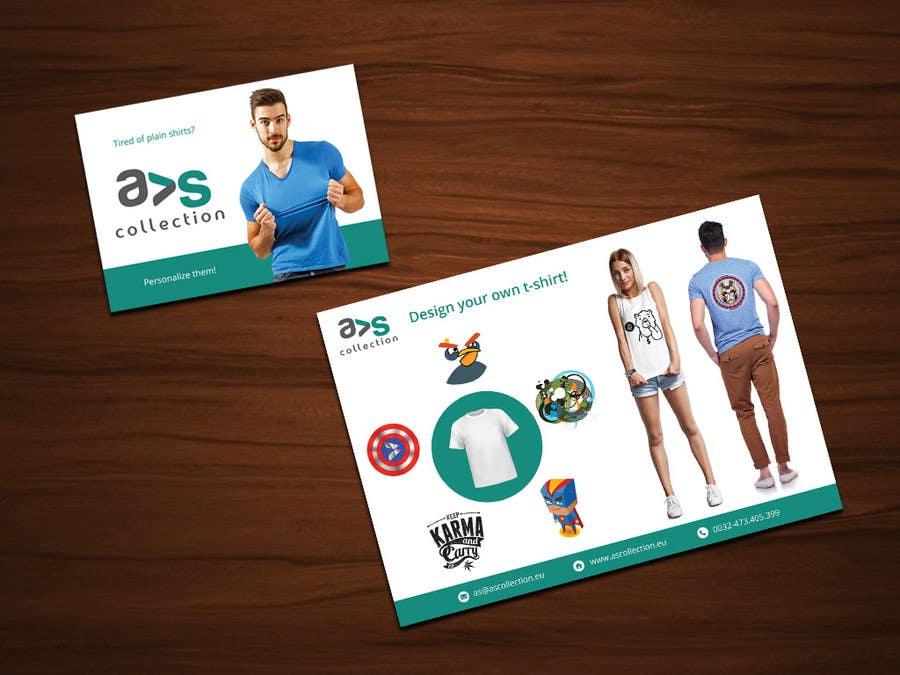 Penyertaan Peraduan #8 untuk Design a Flyer for a online shop