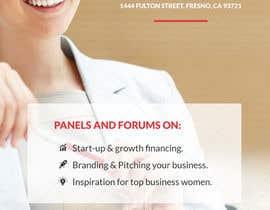 Creativeapes1 tarafından Women's Conference Event Flyer için no 16