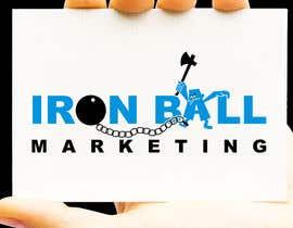 #78 untuk Design a Logo for  Iron Ball  Marketing oleh porderanto