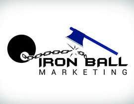 #72 untuk Design a Logo for  Iron Ball  Marketing oleh ratneshkashi