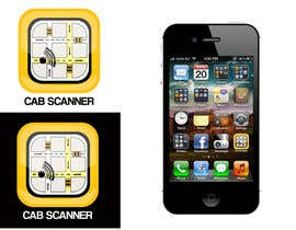 nº 43 pour Design a Logo for a taxi search app par alexandracol
