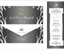 #6 for I need some Graphic Design for wedding card by sami24x7