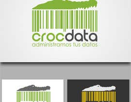 #116 for Logo for CrocDATA a website for barcodes by mille84